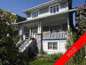 Kitsilano House for sale:  5 bedroom 2,912 sq.ft. (Listed 2010-06-02)