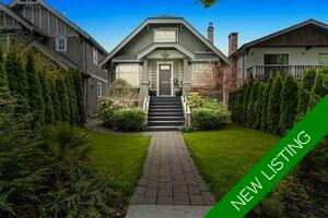 Kitsilano House/Single Family for sale:  4 bedroom 2,646 sq.ft. (Listed 2021-05-02)