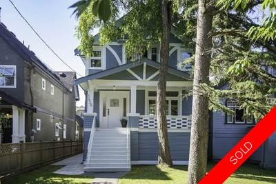 Kitsilano House for sale:  4 bedroom 2,359 sq.ft. (Listed 2016-10-20)