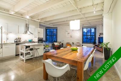 Gastown Apartment for sale: Koret Lofts 2 bedroom 1,227 sq.ft. (Listed 2021-02-07)