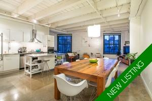 Gastown Apartment for sale: Koret Lofts 2 bedroom 1,227 sq.ft.